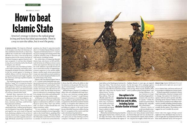 Article Preview: How to beat Islamic State, JUNE 29 2015 | Maclean's
