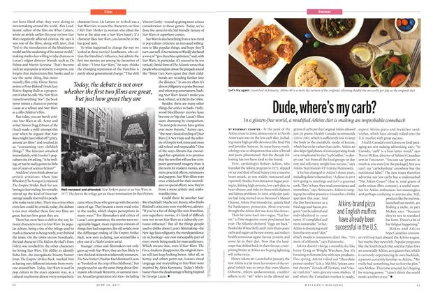 Article Preview: Dude, where's my carb?, JUNE 29 2015 | Maclean's