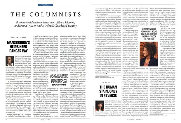 Article Preview: THE COLUMNISTS, JUNE 29 2015 | Maclean's