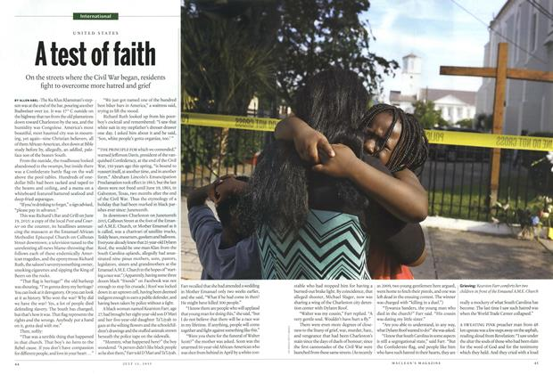 Article Preview: A testo ! faith, July 2015 | Maclean's