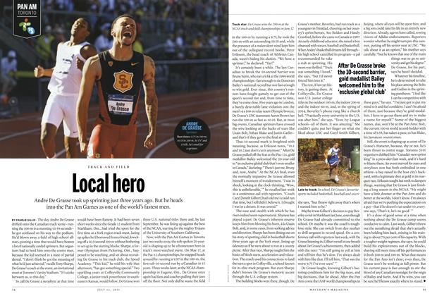 Article Preview: Local hero, July 2015 | Maclean's