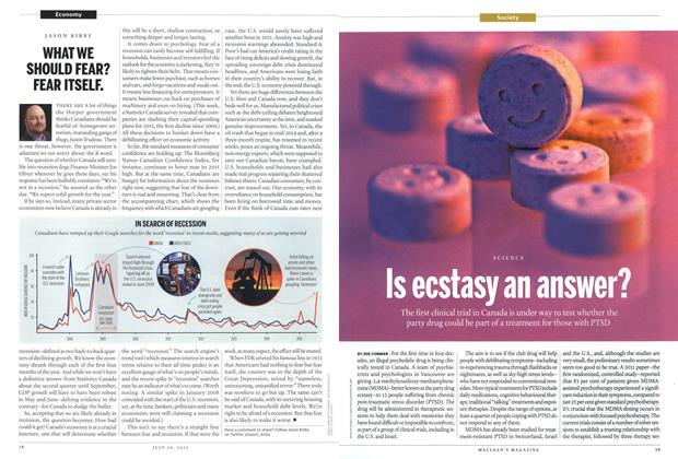 Article Preview: Is ecstasy an answer?, July 2015 | Maclean's