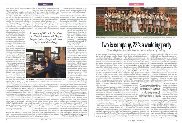Article Preview: Two is company, 22's a wedding party, July 2015 | Maclean's