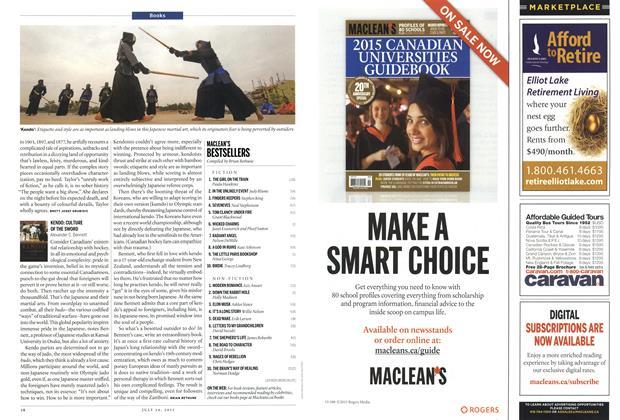 Article Preview: MACLEAN'S BESTSELLERS, July 2015   Maclean's