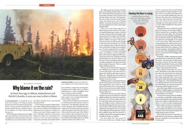 Article Preview: Why blame it on the rain?, August 2015 | Maclean's