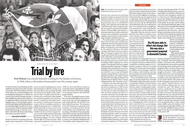 Article Preview: Trial by fire, August 2015 | Maclean's