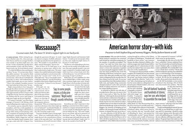 Article Preview: Wassaaaap?!, August 2015 | Maclean's