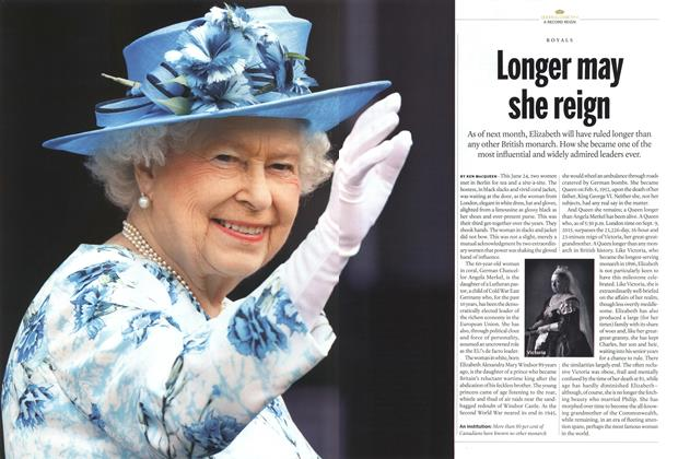 Article Preview: Longer may she reign, August 2015 | Maclean's