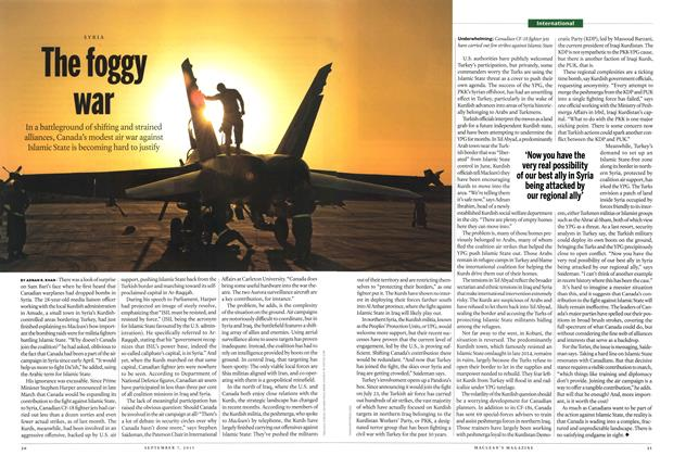 Article Preview: The foggy war, September 2015 | Maclean's
