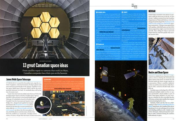 Article Preview: 13 great Canadian space ideas, September 2015 | Maclean's