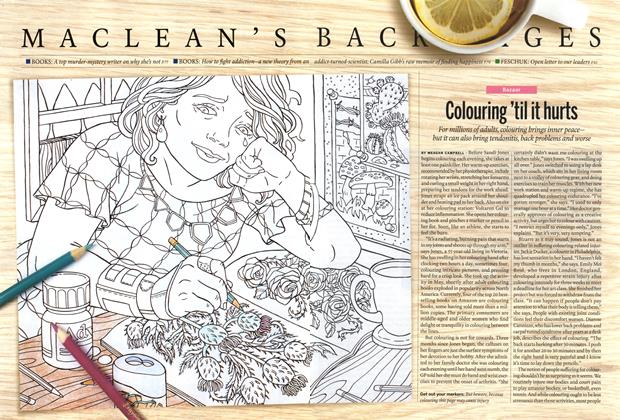 Article Preview: Colouring 'til it hurts, September 2015 | Maclean's