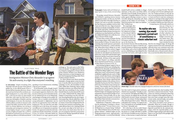 Article Preview: The Battle of the Wonder Boys, September 2015 | Maclean's