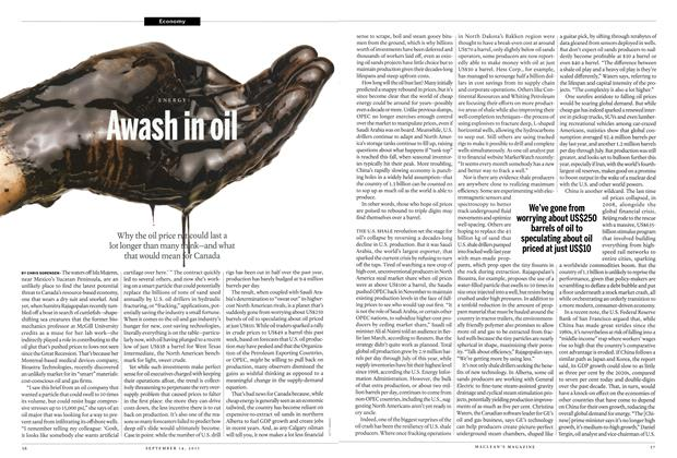 Article Preview: Awash in oil, September 2015 | Maclean's