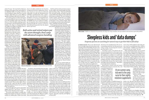 Article Preview: Sleepless kids and 'data dumps', September 2015 | Maclean's