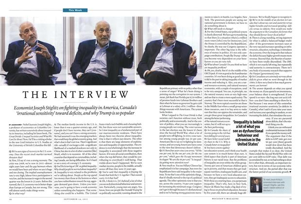 Article Preview: THE INTERVIEW, September 2015 | Maclean's