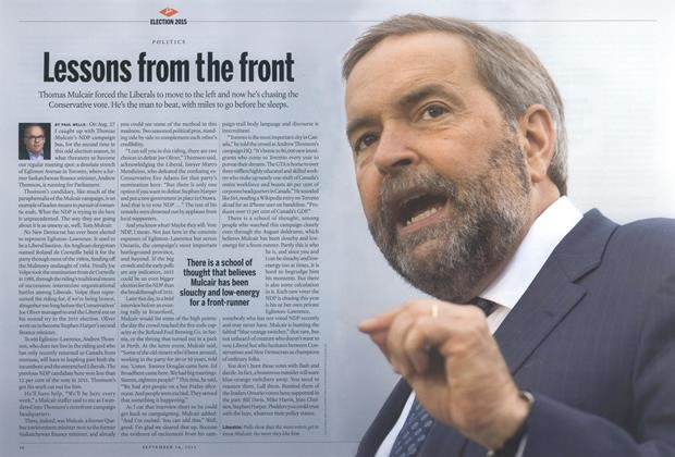 Article Preview: Lessons from the front, September 2015 | Maclean's
