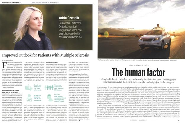 Article Preview: The human factor, September 2015 | Maclean's