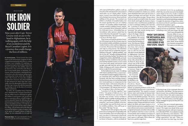 Article Preview: THE IRON SOLDIER, September 2015   Maclean's