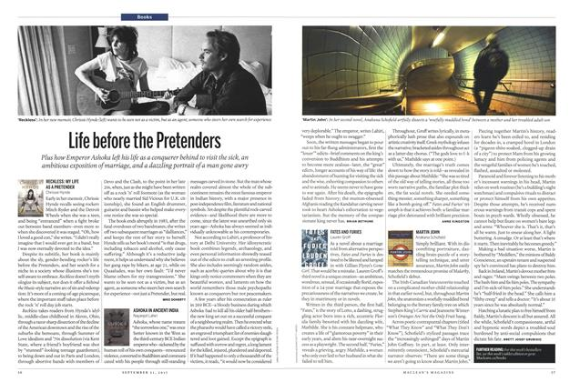 Article Preview: Life before the Pretenders, September 2015 | Maclean's