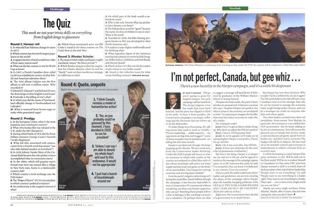 Article Preview: I'm not perfect, Canada, but gee whiz..., September 2015 | Maclean's