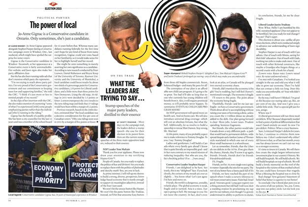 Article Preview: The power of local, October 2015 | Maclean's