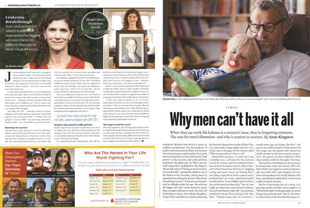 Article Preview: Why men can't have it all, October 2015   Maclean's