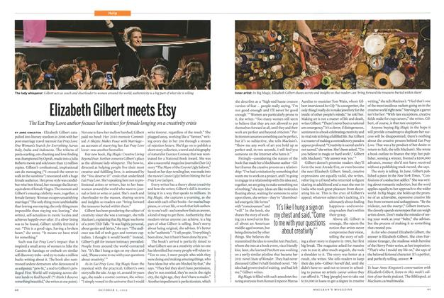Article Preview: Elizabeth Gilbert meets Etsy, October 2015 | Maclean's