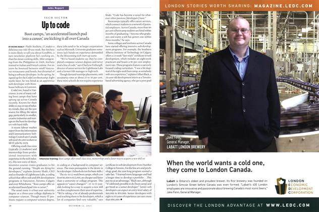 Article Preview: Up to code, October 2015 | Maclean's