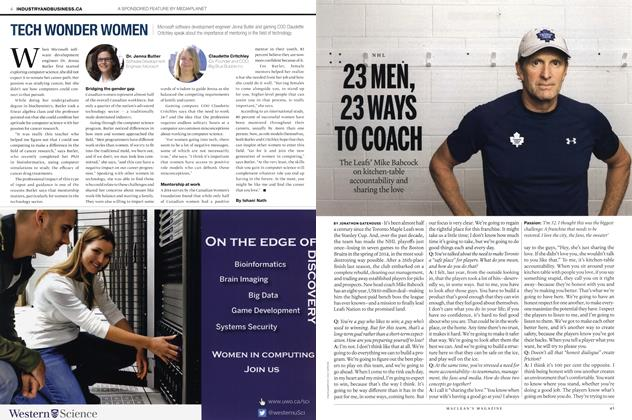 Article Preview: 23 MEN, 23 WAYS TO COACH, October 2015 | Maclean's