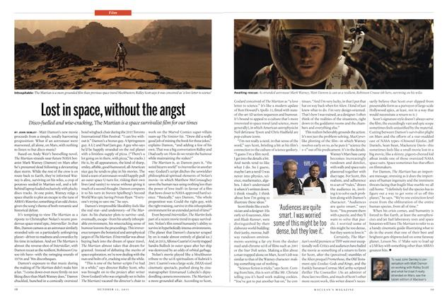 Article Preview: Lost in space, without the angst, October 2015 | Maclean's