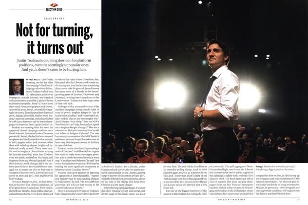 Article Preview: Not for turning, it turns out, October 2015 | Maclean's