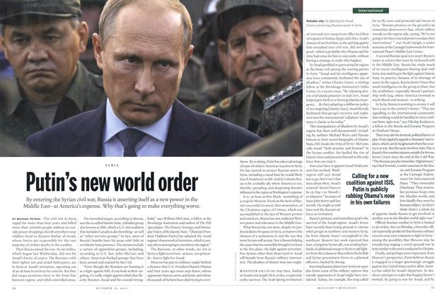 Article Preview: Putin's new world order, October 2015 | Maclean's