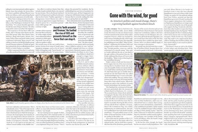 Article Preview: Gone with the wind, for good, October 2015 | Maclean's