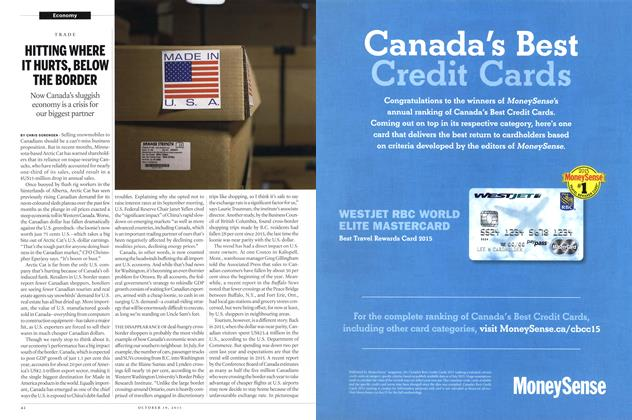 Article Preview: HITTING WHERE IT HURTS, BELOW THE BORDER, October 2015 | Maclean's
