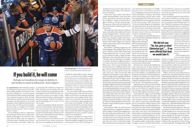 Article Preview: If you build it, he will come, October 2015   Maclean's