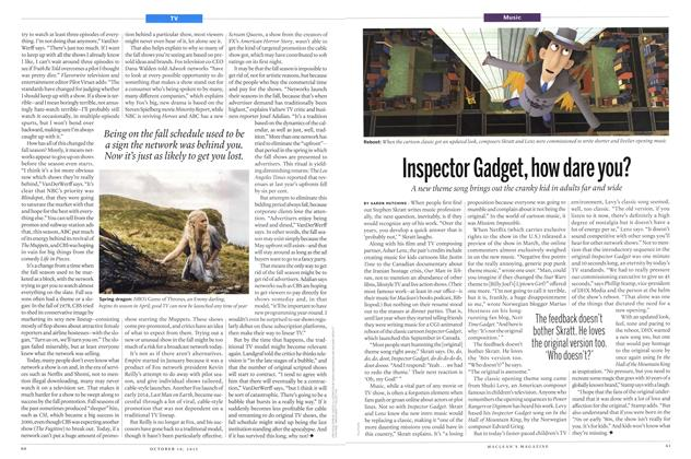 Article Preview: Inspector Gadget, how dare you?, October 2015 | Maclean's