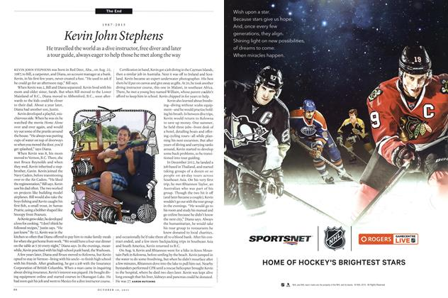 Article Preview: 1987-2015 Kevin John Stephens, October 2015 | Maclean's