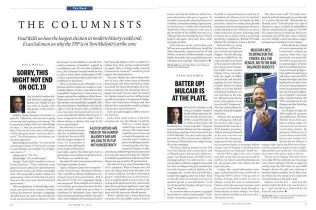 Article Preview: BATTER UP! MULCAIR IS AT THE PLATE., October 2015 | Maclean's