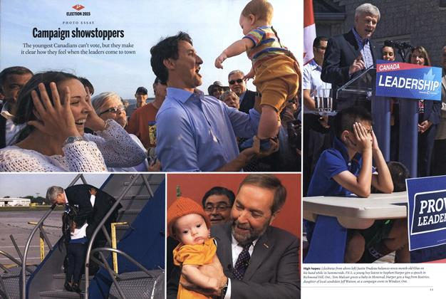 Article Preview: Campaign showstoppers, October 2015 | Maclean's