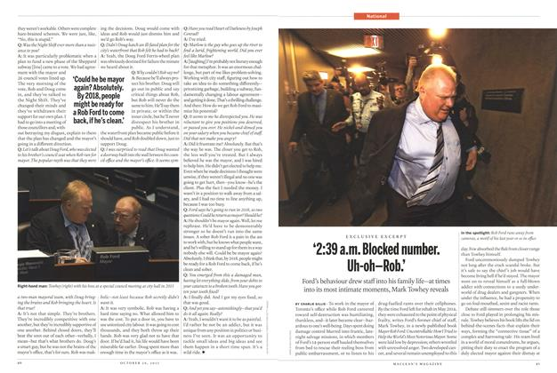 Article Preview: '2:39 a.m. Blocked number. Uh-oh-Rob.', October 2015 | Maclean's