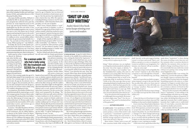 Article Preview: 'SHUT UP AND KEEP WRITING', October 2015 | Maclean's