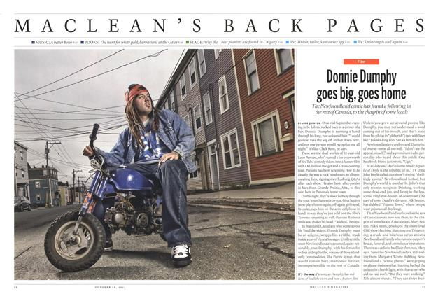 Article Preview: Donnie Dumphy goes big, goes home, October 2015 | Maclean's