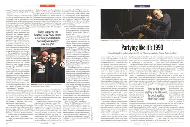 Article Preview: Partying like it's 1990, October 2015   Maclean's
