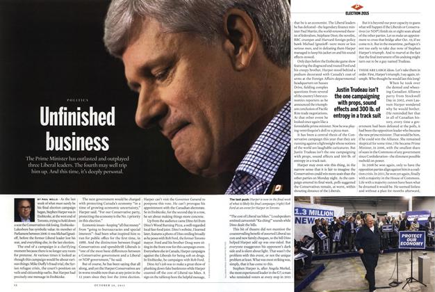 Article Preview: Unfinished business, October 2015 | Maclean's