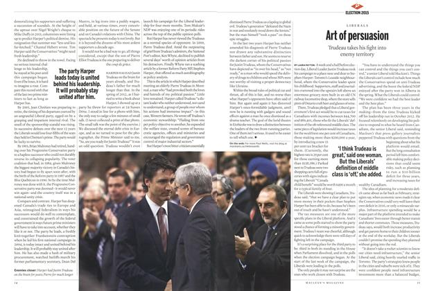 Article Preview: Art of persuasion, October 2015 | Maclean's