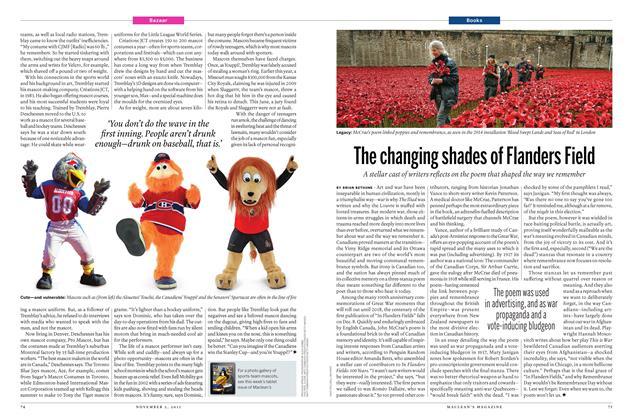 Article Preview: The changing shades of Flanders Field, November 2015 | Maclean's