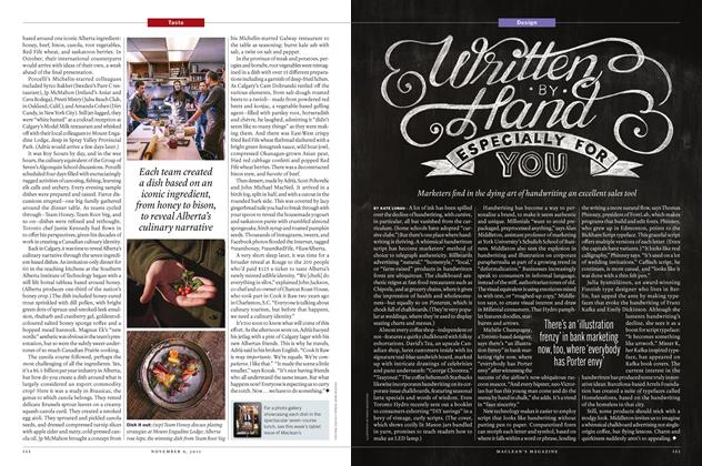 Article Preview: Written BY Hand ESPECIALLY FOR YOU, November 9 2015   Maclean's