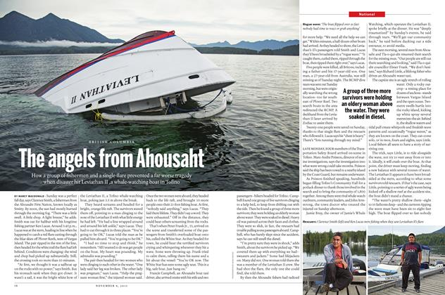 Article Preview: The angels from Ahousaht, November 9 2015 | Maclean's