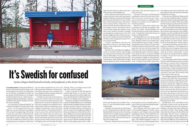Article Preview: It's Swedish for confused, November 16 2015 | Maclean's