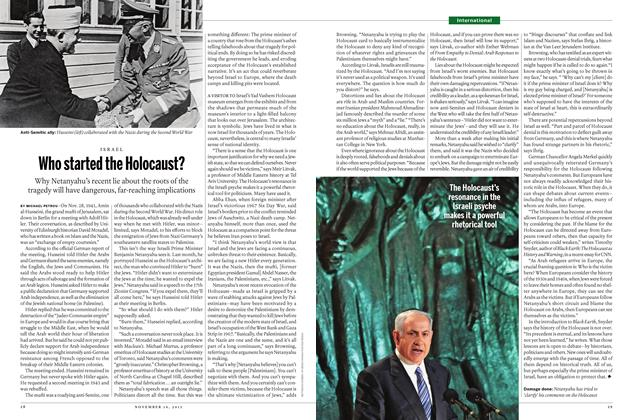 Article Preview: Who started the Holocaust?, November 16 2015 | Maclean's